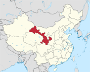 Gansu Province In China Map