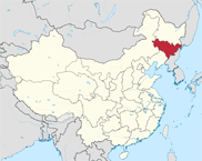 Jilin Province In China Map