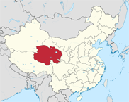 Qinghai Province In China Map
