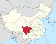 Sichuan Province In China Map